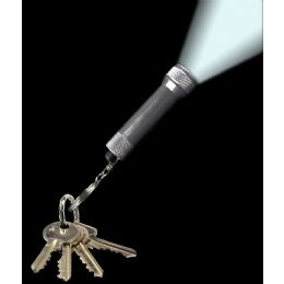 720 of Aluminum 3 LED Flashlight Key Chain- Silver