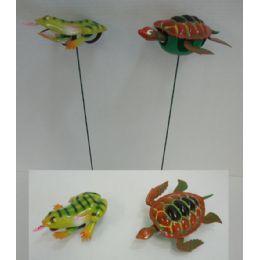 60 of Yard Stake [frog/turtle]