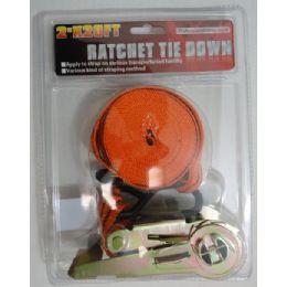 """30 of 2""""x20' Ratchet Tie Down"""