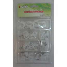 36 of Hardware Assortment [cable Clips]