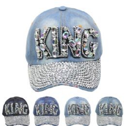 "24 of ""king"" Printed Cap"