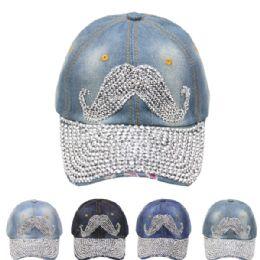 24 of Mustache Cap