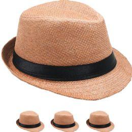 24 of Kid Fedora Hat In Tan