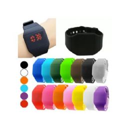 48 of Digital Watches In Square Or Round Shape (assorted Colors)