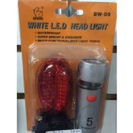 36 of 2 Pack Bike Light Set