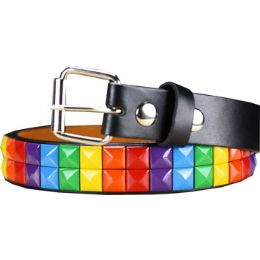 72 of Kids Studded Belts Colorful