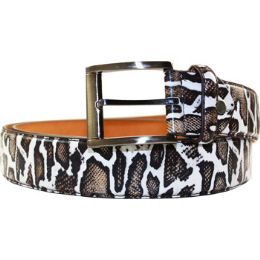72 of Men Animal Pattern Belt
