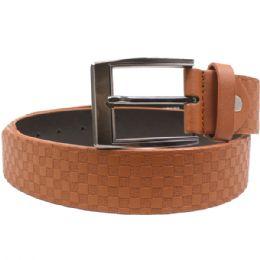 24 of Men's Burnt Orange Belt