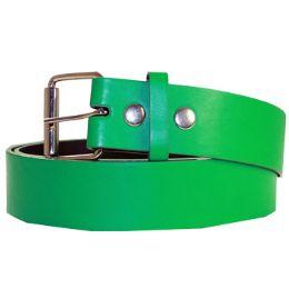36 of Mixed Size Plain Belt Green
