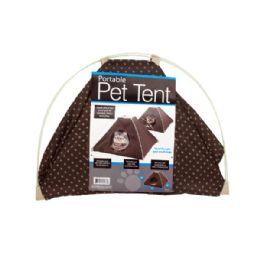 6 of Portable Pet Tent With Soft Fleece Pad