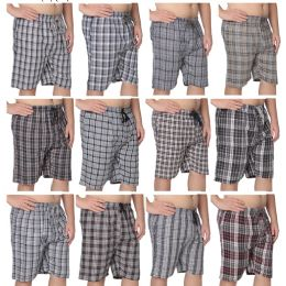 36 of Men's Short Pajama Pants 100% Cotton