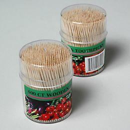 72 of 500ct Wood Toothpicks