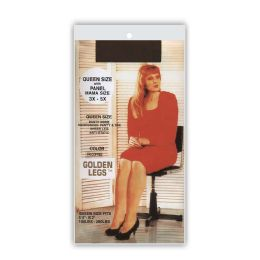 60 of Golden Legs Sheer Pantyhose In French CoffeE- Queen Plus Size