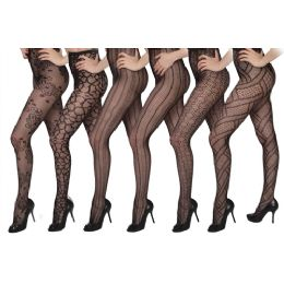 60 of Isadora Fashion Fishnet Tights Queen Size