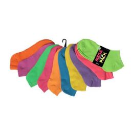 120 of Women's no show socks in size 9-11