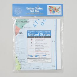 72 of 40x24 United States Wall Map