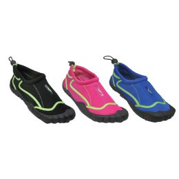 30 of Woman's Aqua Shoes With Footie