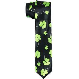 96 of Clover Print Neck Tie