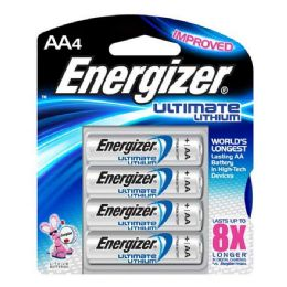 12 of Energizer Lithium AA-4