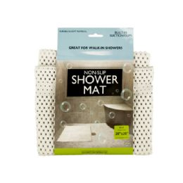 18 of NoN-Slip Shower Mat With Suction Cups