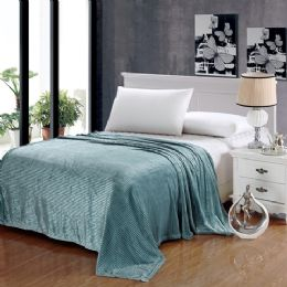 12 of The Collection 100% Polyester Full Size Blankets Aqua