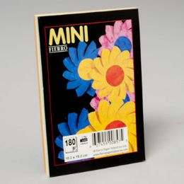 96 of 3 Colours Asst Plain Pad 4x6 Inch 180 ct