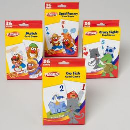 96 of Playskool Game Card Assortment In Pdq 4