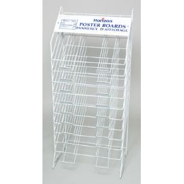 Poster Board Display Rack 10 Tier Ref #blk5222 Rack Only!! No Poster Board Included