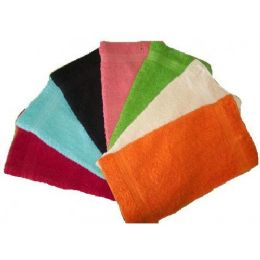288 of 12x12 Fancy Terry Solid Wash Cloth Assts 16oz
