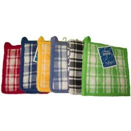 144 of 2pk 8x8 Cotton Solid Waffle Weave Pot Holder -Assts