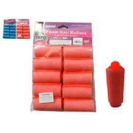 96 of 10pc Foam Hair Rollers
