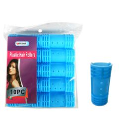 96 of 10 Piece Plastic Hair Roller