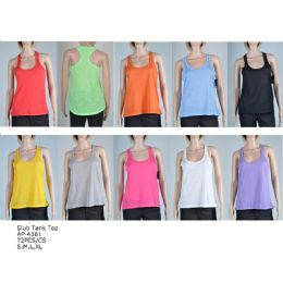 144 of Women's Fashion Tank Tops In Assorted Colors And Sizes