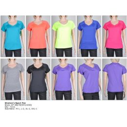 72 of Womens Fashion Sports Top Assorted Colors And Sizes