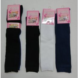 60 of 15 Inch Kids Knee High Socks Size 6-8 Assorted Solid Colors