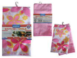 72 of 2 Piece Kitchen Towel