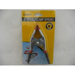 "96 of Clamp Spring 6""bk/rd Handle"