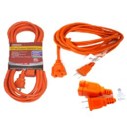24 of 15 Feet Outdoor Extension Cord