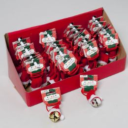 40 of Jingle Bell With Santa Hat Neckace