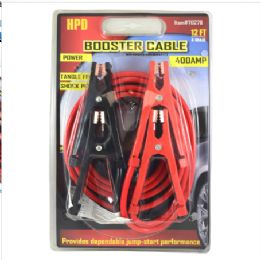 12 of 400 Amp Booster Cable