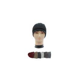 36 of Men's Assorted Color Winter Hat