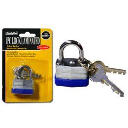 144 of Lock 30mm Laminated2pc Steel Key