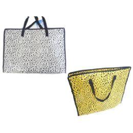 """144 of Shopping Bag 19.7x15x6"""" W/zipper"""