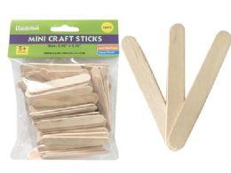 72 of 100 Piece Mini Craft Stick