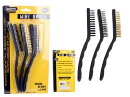 72 of 3pc Wire Brushes