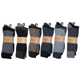 60 of Men's Heavy Boot Socks In Size 10-13 And Assorted Colors