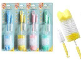 96 of Baby Bottle Brush & Nipple Brush Set