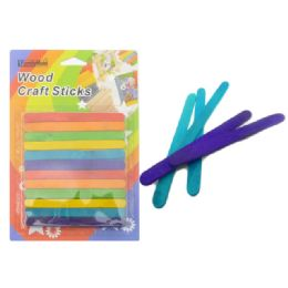 72 of Craft Stick 72pc Multi Color