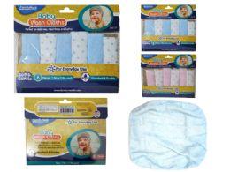 144 of Baby Washcloths 6pc