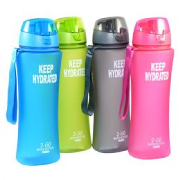 24 of Water Bottle Solid With Filter 24oz Covered Top